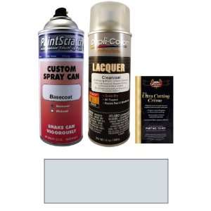 Oz. Arctic Silver Metallic Spray Can Paint Kit for 1988 Mazda RX7 (J5