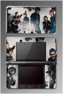 Big Time Rush BTR Nick Show Game SKIN 2 Nintendo 3DS