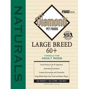 Breed 60+ Dog Food Diamond Naturals Large Breed 60+ Dog F Dry Food