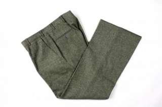 Vtg Pierre Cardin 3 Piece Suit Hughes & Hatcher TWEED 43L Wool Fleck