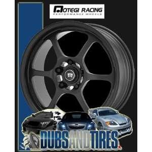 MOTEGI RACING wheels TRAKLITE2 Matte Black wheels rims Automotive