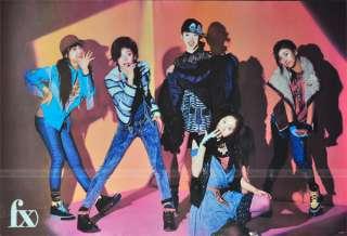 Fx Girls Group Korean Singer Group Poster Fx Color