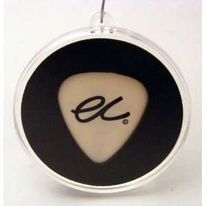 Eric Clapton EC 2008 White Guitar Pick With MADE IN USA