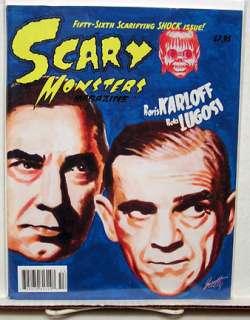 SCARY MONSTERS Magazine # 56 BORIS KARLOFF BELA LUGOSI