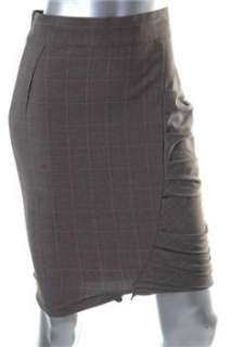 FAMOUS CATALOG Brown BHFO Straight Skirt Sale 2