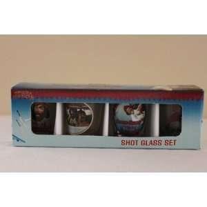 Cheech and Chong   Up in Smoke   Shot Glass Set of 4 1.5