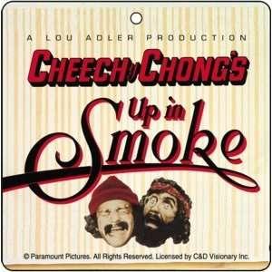 Cheech & Chong Up In Smoke Car Air Freshener *Sale