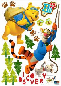 WINNIE THE POOH WALL DECAL ART MURAL DECOR STICKERS #72