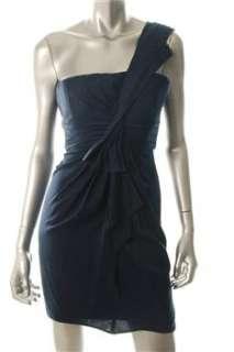 BCBG Maxazria NEW Blue Versatile Dress BHFO Sale 0