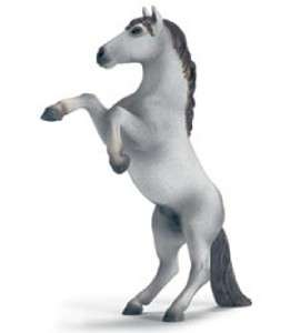 NEW* SCHLEICH 13621 White Mustang Rearing Horse Equine