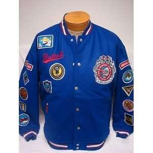 Size 5XL Blue Tuskegee Airmen Black Knights Wool Blend