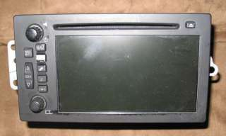 GM Chevy Cadillac Navigation CD Player Touch screen