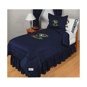 NCAA Notre Dame Irish Complete Bedding Set Queen Size