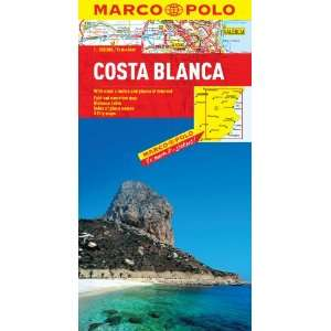 Costa Blanca Marco Polo Map (Marco Polo Maps