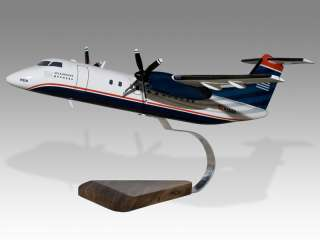 De Havilland Dash 8 US Airways Piedmont Airplane Model