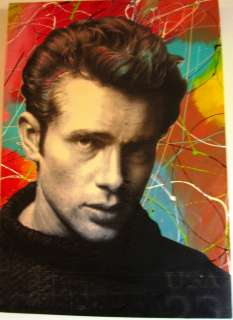 James Dean Pop Art Steve Kaufman Andy Warhol Style Collectors Limited