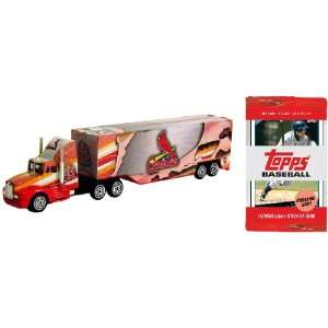 St Louis Cardinals MLB 06 Tractor Trailer plus Trading