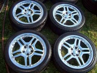 18 MERCEDES 129 SL TIRES SL500 500SL 300SL 600SL AMG STYLE CHROME TSW