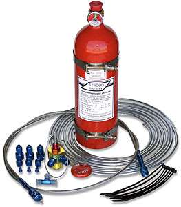 Stroud 9301 Fire Suppression System
