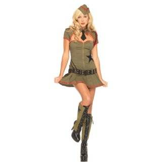 Private Pin Up Sexy Army Girl Costume 83696