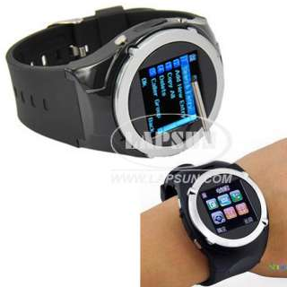Unlocked Quad Band Wrist Mobile Mens Watch Cell Phone Spy Camera DV
