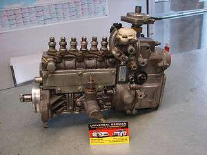 W124 300D 300TD E300 Turbo Diesel Fuel Injection Pump