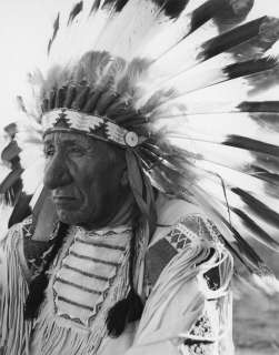 AMERICAN INDIAN CHIEF RED CLOUD PHOTO WESTERN PLAINS SPIRIT