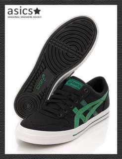 Brand New ASICS AARON CV Shoes Balck/Green #94