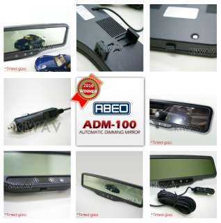 auto dimming rear view mirror fast response universal