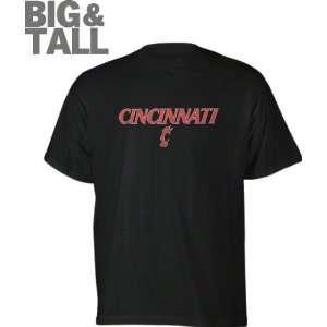 Cincinnati Bearcats Black Fan Arch Big & Tall T Shirt