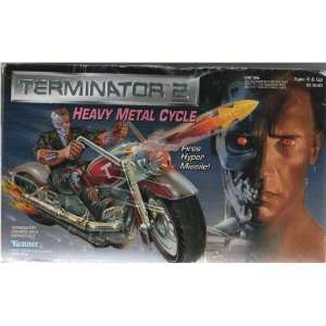 Terminator 2 Heavy Metal Cycle   Fires Hyper Missile