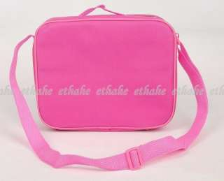 Hello Kitty Canvas Lunch Box Crossbody Bag Pink EIGENF