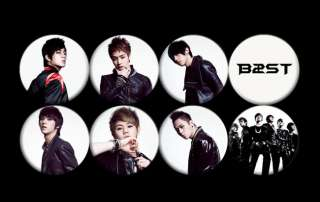 B2ST BEAST Korean Boy Band Music #1 Buttons Pins Badges