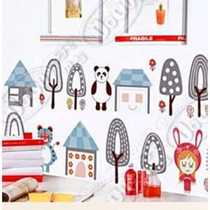 Wall Decor Removable Decal Sticker   Forest Animals Baby