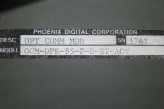 Corporation OCM DPR 85 P D ST ACV Optical Communications Module