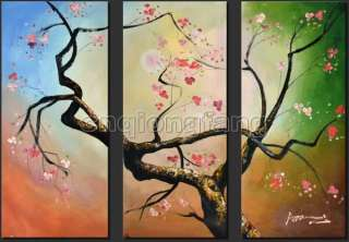 Modern Art Landscape Flowers Oil Paintings On Canvas Chp765