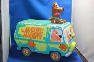 Vtg Scooby Doo Mystery Machine Warner Bros Cookie Jar