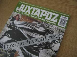 Juxtapoz Art & Culture Magazine 2007 2008 2009 12 LOT Terry Richardson