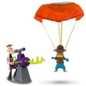 PHINEAS & FERB Agent P & Dr Doofenshmirtz Laser NEW