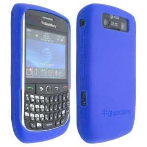 Blue High Quality Soft Silicone For Blackberry Curve 8900