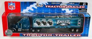 PHILADELPHIA EAGLES NFL TRACTOR TRAILER SEMI TRUCK NEW