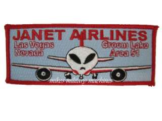 USAF BLACK OPS SPECIAL PROJECTS DIVISION AREA 51 JANET ALIEN AIRLINES