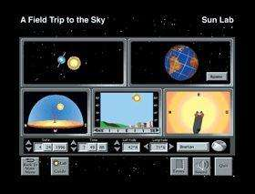 Sunburst A Field Trip to the Sky Single Windows Educational Software