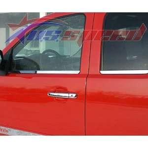 2002 2008 Dodge Ram Mega Cab Polished Window Sill Trim 4PC