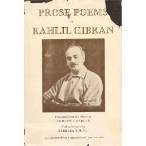 By Kahlil Gibran: Kahlil, Translated By Andrew Ghareeb Gibran: Books