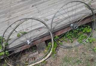 Vintage Campagnolo Victory Strada Rim Record Hub Wheel Set Tubular w