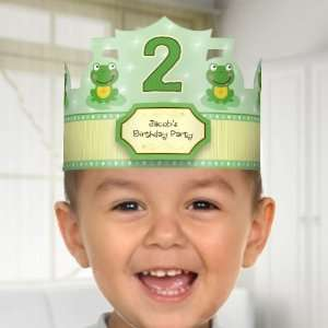 Froggy Frog   Birthday Party Personalized Hats: Toys