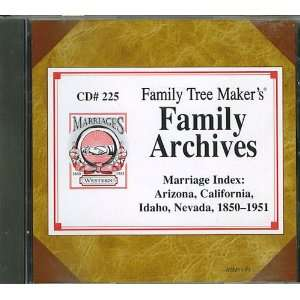 Family History Marriage Index Arizona, California, Idaho