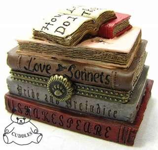 Love Treasure Box Resin Figurine Boyds Bear Valentines Day BNIB