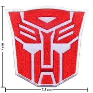 Transformers Patch Autobot Logo I Iron on Patch From